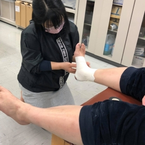 広島西区柔道整復師・鍼灸師 朝日医療専門学校 広島校 ATT認定トレーナー試験を実施しました。