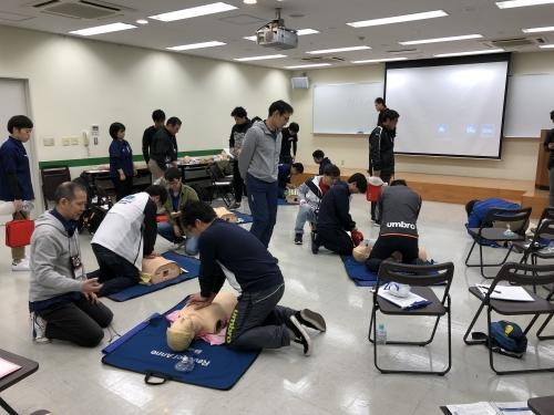 朝日トレーナーチーム 日本ACLS協会