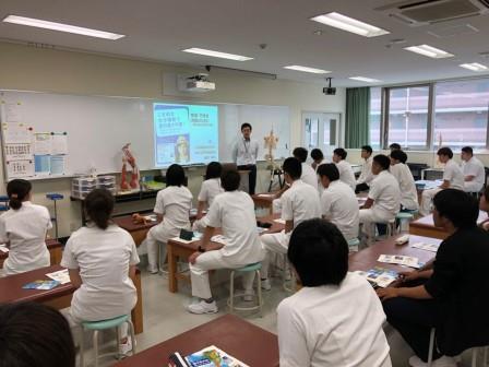 大塚製薬 特別講義 学生