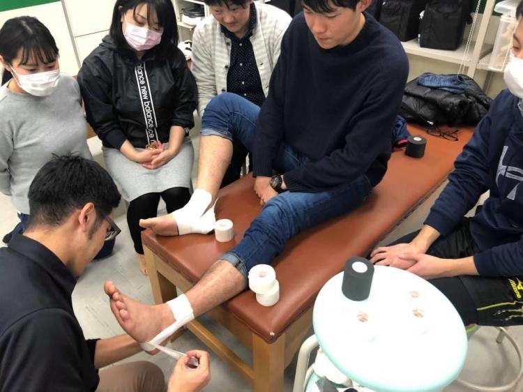 ASH 朝日医療専門学校 ATT トレーナー